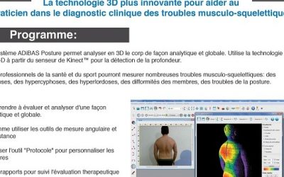 Atelier pratique, l'analyse Postural en 3D, Paris