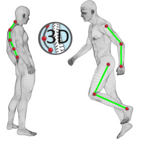 3D Technology to improve body posture